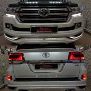 Стоп-сигнал. Toyota Land Cruiser, URJ202W, URJ202, J200, VDJ200 Двигатели: 1URFE, 3URFE, 1VDFTV