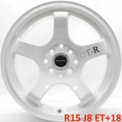 Rota GTR. 8.0x15, 4x100.00, 4x114.30, ET18, ЦО 73,1мм.
