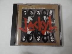 """CD Jackyl-""""Push comes to shove""""(1994), made in Canada"""