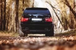 Насадка на глушитель. BMW X5, E53. Под заказ