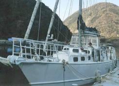 Яхта океанская в стальном корпусе Adams 56. Год: 1989 год, длина 17,00м., двигатель стационарный, 160,00л.с., дизель. Под заказ
