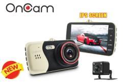 Видеорегистратор с камерой заднего вида OnCam -Full HD 1080P 170градус