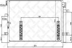 Радиатор кондиционера. Audi: Q5, A5, A4, A6, A7, Allroad