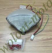 Стоп сигнал с поворотниками Белое прозрачное стекло Yamaha R1 (04-06)
