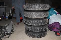 Уралшина НИИШП-Ралли 2000. Зимние, шипованные, 2004 год, без износа, 5 шт