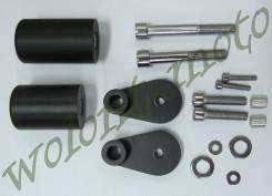 Слайдеры (комплект) Черный CBR100RR (06-07)