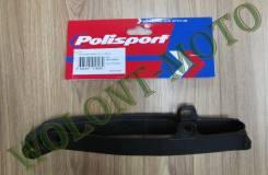 Слайдер цепи Polisport 8451100001 YAMAHA YZ125-250 08-16/YZ250F-450F 07-08/WR250F-450F 07-16, Черный