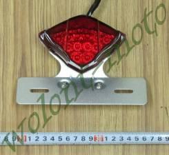 Стоп сигнал красный с серым светодиодный