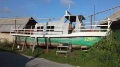 Костромской судомеханический завод. Год: 2005 год, длина 10,50м., двигатель стационарный, 80,00л.с., дизель