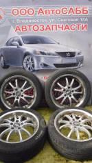 Комплект летних колес на литье R17 с резиной 215/45R17. 7.0x17 5x114.30