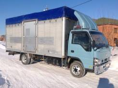 Isuzu Elf. Грузовой фургон, 4 800 куб. см., 4 000 кг.