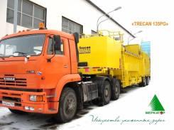 Ackermann. Полуприцеп снегоплавильный Trecan-135-PG (ГАЗ), 10 000кг.