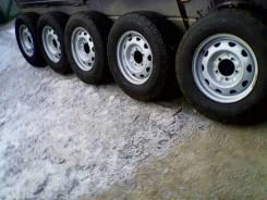 Колеса УАЗ заводские в сборе плюс новая запаска. 6.5x16 5x139.70 ET40 ЦО 108,6мм.
