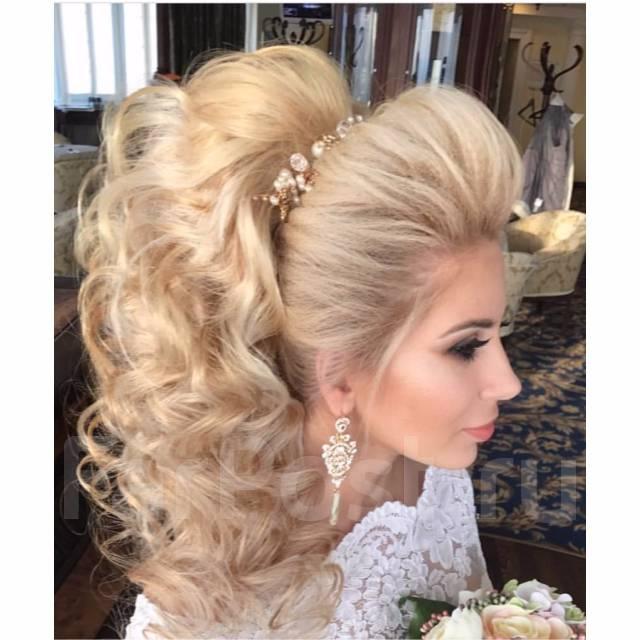 Причёски свадебные и вечерние фото