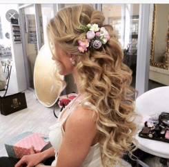 Свадебные, вечерние прически + макияж. выезд мастера надом