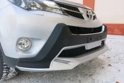 Накладка на бампер. Toyota RAV4, XA40. Под заказ