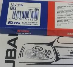 Лампа KOITO T10 12V*5W 1583
