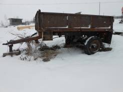 Тракторный прицеп, 1992. Прицеп, 3 000 кг.