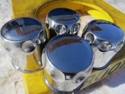 """Колпаки ЦО из Нержавейки! Для колес на джипы и автобусы. Заглушки. Диаметр 15"""", 4 шт."""