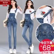 Комбинезоны джинсовые. 40, 42, 44, 40-44, 40-48, 46, 48, 50, 52, 54, 56, 58. Под заказ