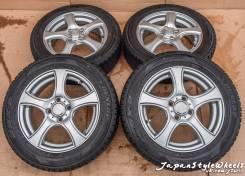 Insight 5,5JxR15 4x100 ЕТ50 Dunlop DSX-2 185/60R15 зима 6-7мм. 5.5x15 4x100.00 ET50 ЦО 73,0мм.