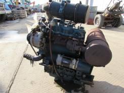 Двигатель в сборе. Hanix Kubota