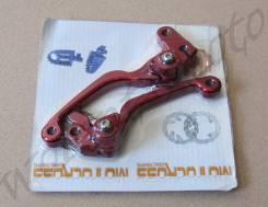 Рычаг сцепления + Рычаг тормоза Красный HONDA (CRF250R/250X/CRF450R 04-07 04-10)