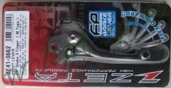 Рычаг тормоза Zeta 3-Fin Темно серый ZETA Pivot RMZ, RM'04-, KXF'04-12, KX'00-, YZ/YZF'01-07 ZE41