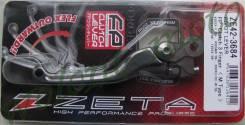 Рычаг сцепления Zeta 3-Fin Темно серый ZETA Pivot MAGURA/KTM'09- ZE42-3684