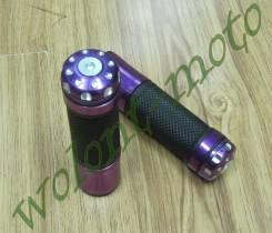 Ручки на руль фиолетовый ASV