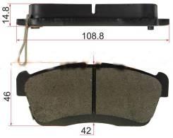 Колодки тормозные FR TOYOTA PASSO 04- / AKOK / / DG1420-SF / DG1420-SF / DG1420-SF / DG1420-SF / DG1 / DG1420-SF / AKOK