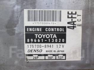 Блок управления двс. Toyota Corolla Spacio, AE111