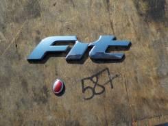 Эмблема. Honda Jazz Honda Fit, GD1, DBA-GD2, LA-GD1, UA-GD2, DBA-GD1, LA-GD2, UA-GD1 Двигатель L13A1