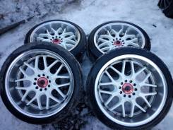 Sparco. 9.5/9.5x18, 5x114.30, ET22/23, ЦО 73,1 мм.