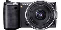 Sony Alpha NEX-5. 10 - 14.9 Мп, зум: 10х