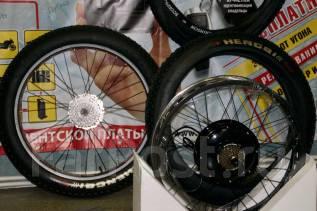 Комплект для изготовления электро велосипеда из фэтбайка.