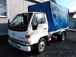 Toyota Dyna. , 1996г., дизель 15В, борт/тент, в Спасске-Дальнем, 4 104 куб. см., 3 000 кг.