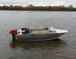 Алюминиевая моторная лодка Тактика-370 Классик Кредит 10-10-10. Год: 2017 год, длина 3,70м., двигатель подвесной, 20,00л.с., бензин. Под заказ