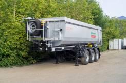 Grunwald. Самосвальный полуприцеп Gr-TSt 27м3, 29 900 кг.