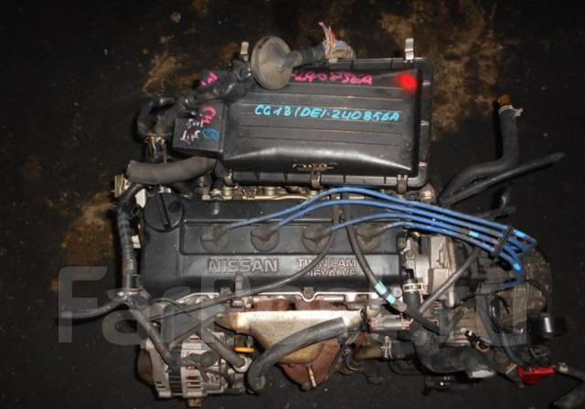 Двигатель в сборе. Nissan Cube, Z10 Nissan March, HK11, FHK11 Двигатель CG13DE