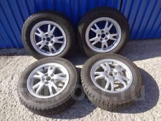 Оригинальные диски Toyota + жирная зимняя резина 195/65/15. 6.0x15 5x100.00 ET45 ЦО 73,0мм.
