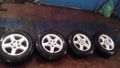 Комплект японских колес 215/70/R16, (2014 год) Гайки в подарок. x16 5x114.30