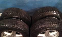 Продам колеса 215/70/R16, (2014 год) Гайки в подарок. x16 5x114.30