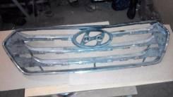 Решетка радиатора. Hyundai Santa Fe, DM