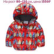 Куртки. Рост: 86-98, 98-104, 104-110, 110-116, 116-122, 122-128 см