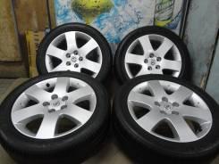 Продам Отличные Стильные колёса Nissan Presage+Лето 215/50R17. 6.5x17 5x114.30 ET40