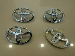 "Значки для колпаков литых дисков Toyota. Диаметр Диаметр: 17"", 1 шт."