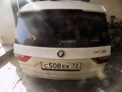 Накладка крышки багажника. BMW X3, E83