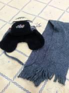 Шапка и шарф. Рост: 74-80, 80-86, 86-98, 98-104, 104-110, 110-116 см