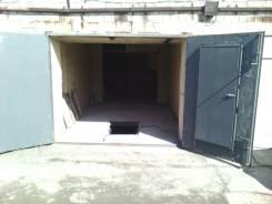 Гаражи капитальные. улица Сабанеева 24, р-н Баляева, 18 кв.м., электричество, подвал. Вид снаружи
